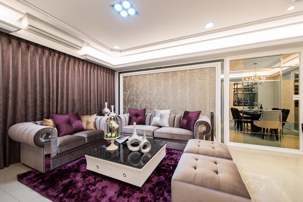 新古典臥室床頭- 丰越室內設計