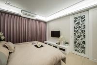 新古典臥室電視牆- 丰越室內設計