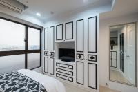 黑白古典臥室- 丰越室內設計