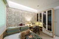 休閒風格臥室- 丰越室內設計