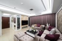 紫金古典客廳-丰越室內設