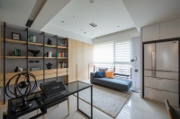 現代風書房-丰越室內設計
