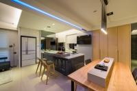 現代風餐廳-丰越室內設計